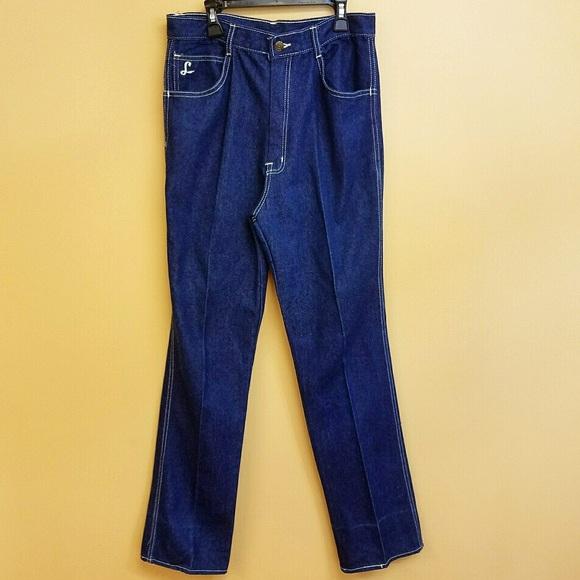 Vintage Denim - Vintage Longstreet High Waisted Dark Wash Jeans 16